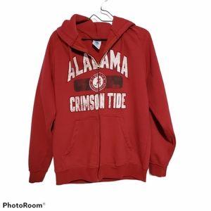 NCAA SZ M Alabama Crimson Tide Hoodie Jacket